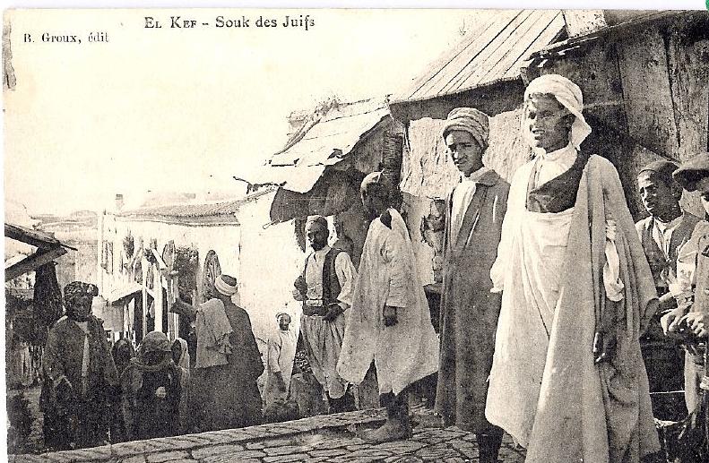 יהודי תוניסיה, בראשית המאה ה-20. באדיבות אתר