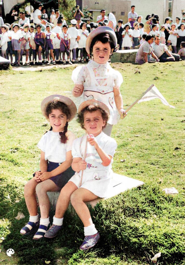 חגיגות יום העצמאות בבית הספר 'יזרעאל' בעפולה, 1951